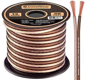 installgear 12 gauge speaker wire 99 9 oxygen free copper true spec and soft. Black Bedroom Furniture Sets. Home Design Ideas