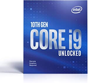 Intel Core i9-10900KF Desktop Processor 10 Cores up to 5.3 GHz Unlocked Without Processor Graphics LGA1200 (Intel 400 Series chipset) 125W