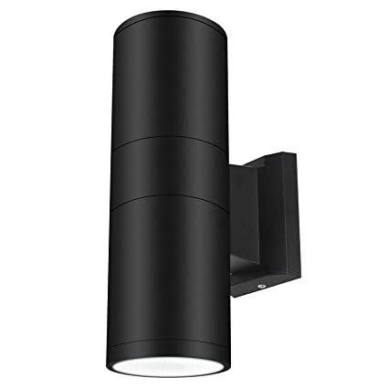 Led Outdoor Wall Sconce Exterior Wall Lamp Up Down Light Okelux 30w