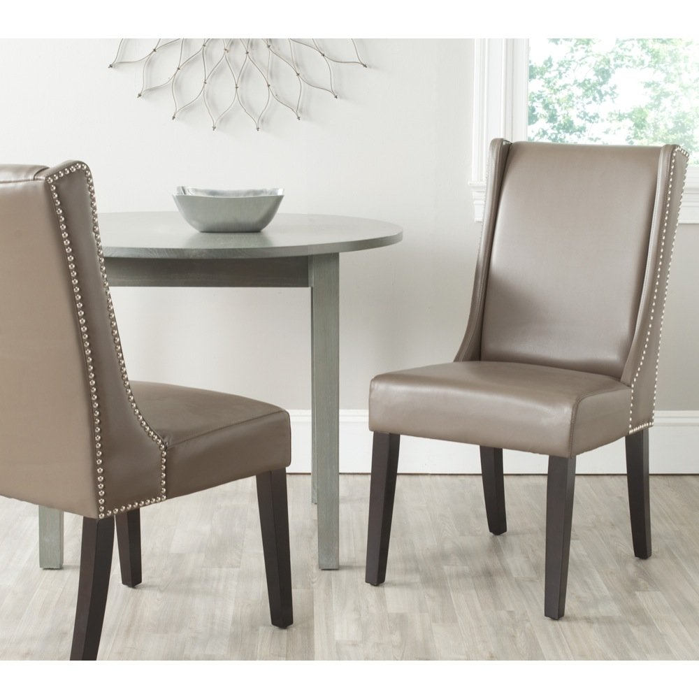Safavieh Mercer Collection Sher Side Chair, Clay, Set of 2