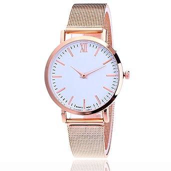 Amazon.com: ¡Limpiar! Relojes de cuarzo para mujer, reloj de ...