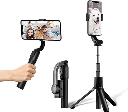 Smartphone Gimbal Handy Stabilisator 1 Achse Selfie Kamera
