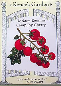Heirloom Cherry Tomatoes Camp Joy Seeds