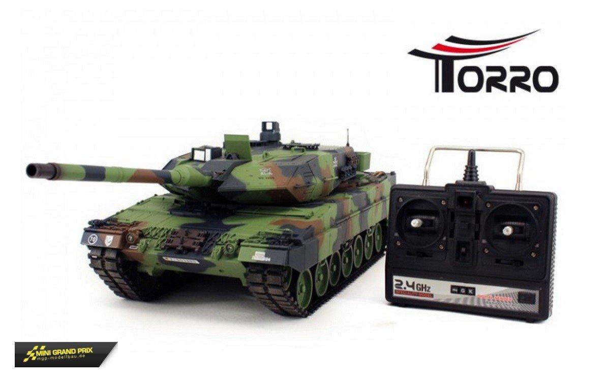 Torro 2A6 Leopard 2A6 Torro Panzer 2.4 Ghz 1/16 Torro-Edition 479b7b