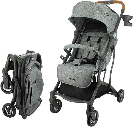 Opinión sobre Silla de paseo CASSY ligera y compacta - Plegable con una Mano (gris)