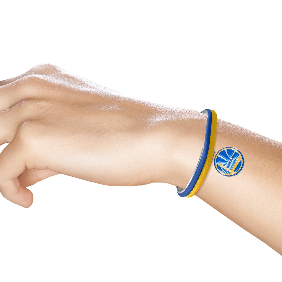 NBA Golden State Warriors Hair Tie Bangle Bracelet