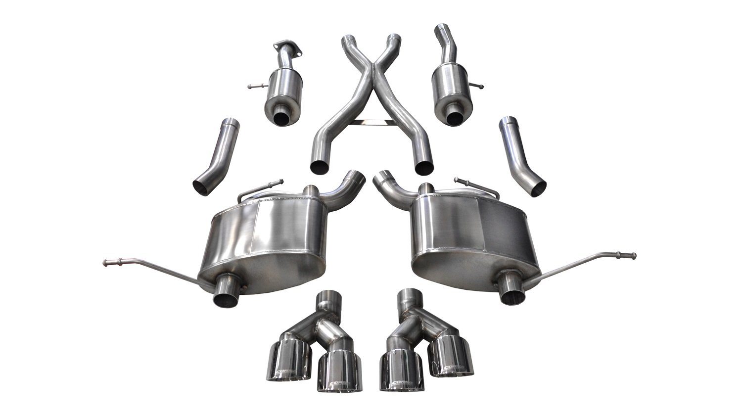 Corsa 14992 Cat Back Exhaust (Jeep Grand Cherokee Summit Edition 5.7L V8)