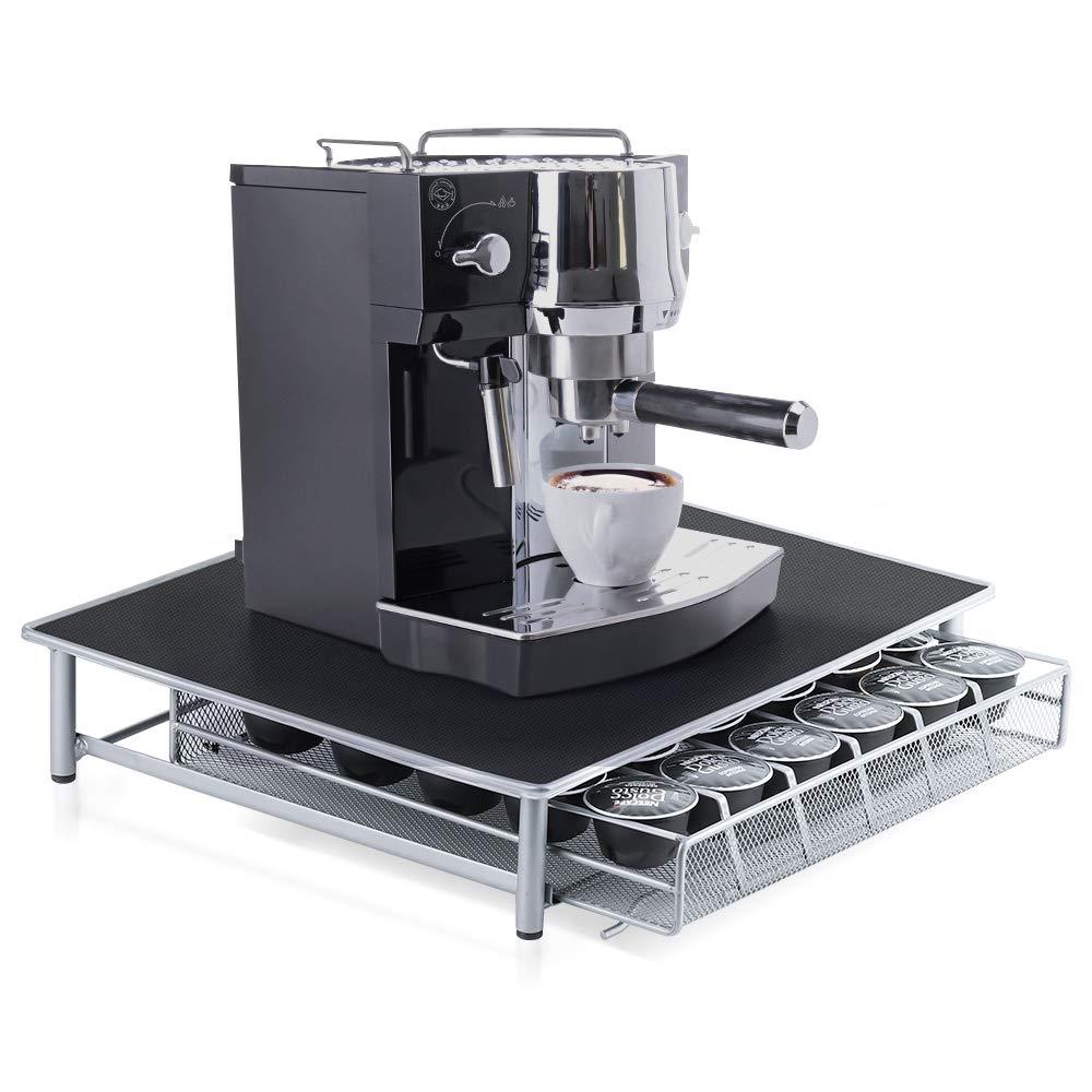 激安先着 NEXグストスタイリッシュコーヒーKカップホルダー収納引き出しコーヒーカプセルポッドホルダー滑り止め面と防振36ポッド容量 B07HR7LJJ4 B07HR7LJJ4, タイキチョウ:9f59e4dd --- arianechie.dominiotemporario.com