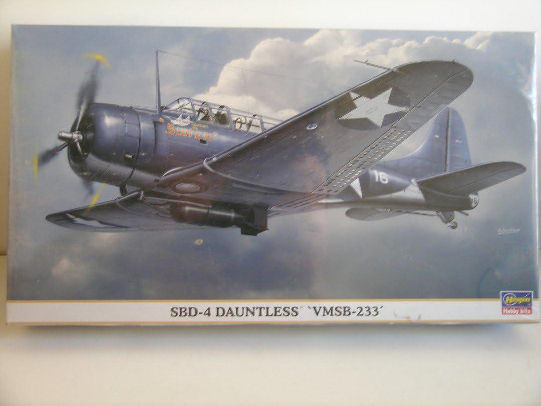 ハセガワ 1/48 SBD-4ドーントレス VMSB-233