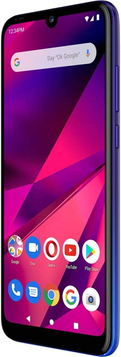 BLU G60 (64GB, Dual-SIM) GSM Unlocked Smartphone w/ 13MP Camera - Gradient Black