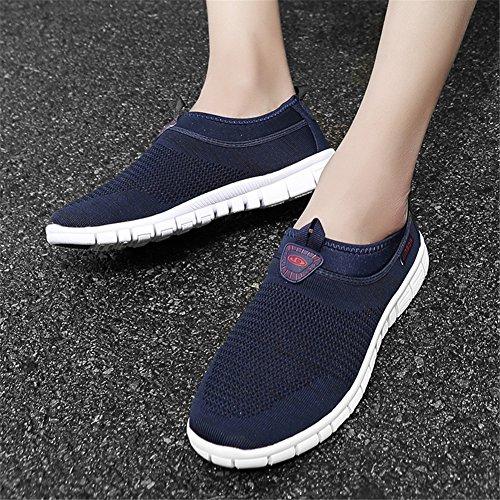 Spring 2018 Informal Hollow E Slip Shoes New de out Zapatos y conducciónCalzado Mocasines Lovers Summer Knit Ons Deportivo Transpirables Z8rIcaU8p
