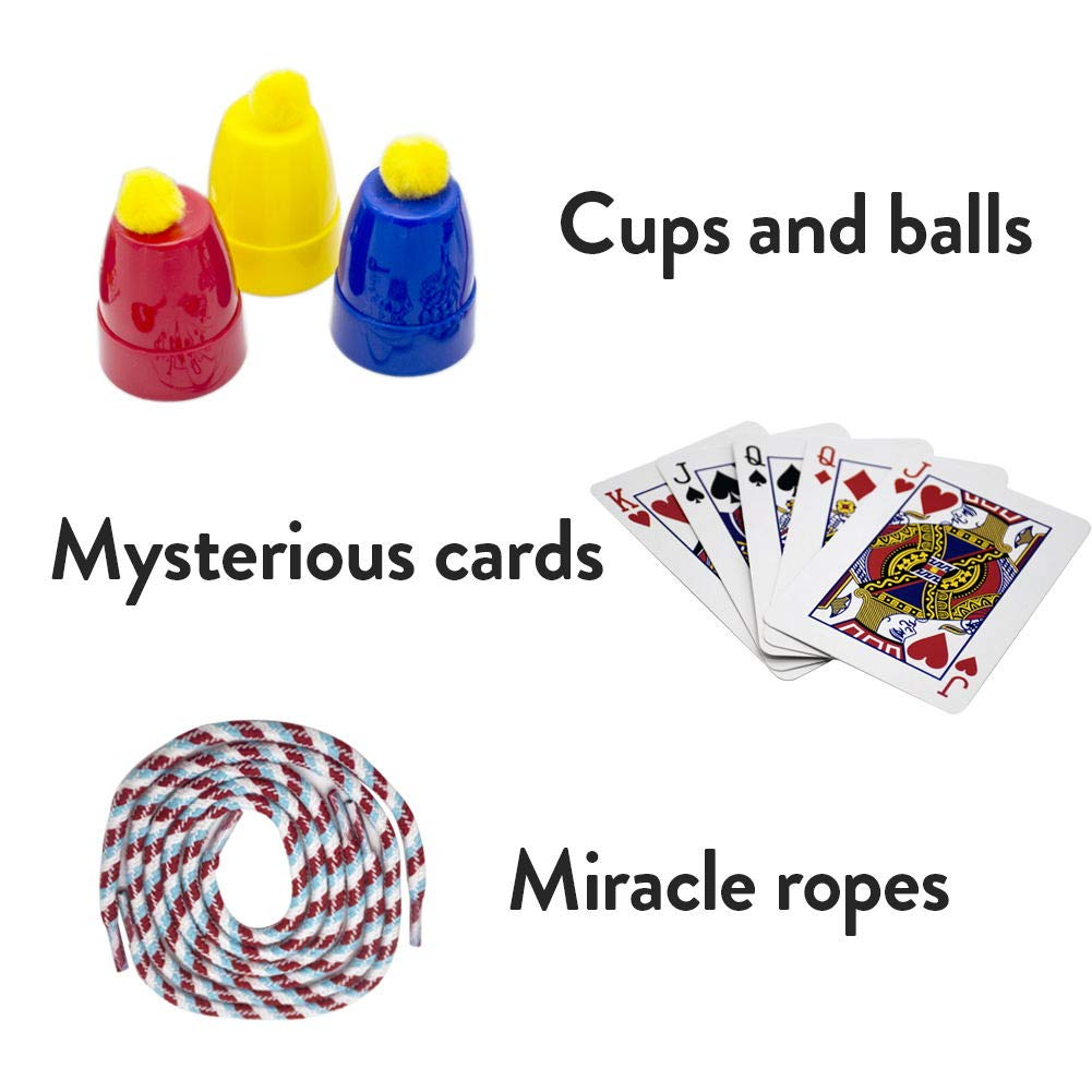 Magic Set Magic Kit For Kids Science Toys for Children Including 25 Classic Tricks Easy To Play Magic Best Gift For Boys Girls and Adult by PINKYSTAR (Image #5)
