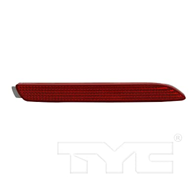 TYC 17-5280-00 Replacement Driver Side Reflex Reflector: Automotive [5Bkhe0809550]