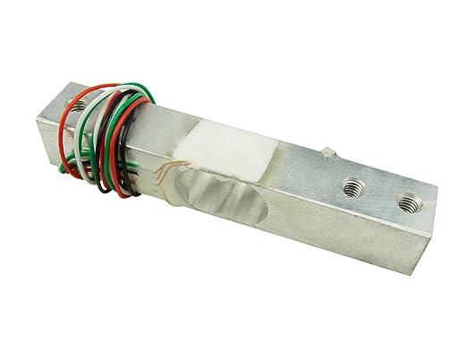 Aihasd 5KG portátil electrónico Sensor de peso célula de carga sensor de pesaje para Arduino Raspberry Pi: Amazon.es: Electrónica