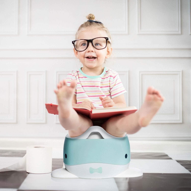 Kindertopf WC-Kinderaufsatz; Rosa-Pink all Kids United Wal Kinder-T/öpfchen; Baby /Übungst/öpfchen; Toiletten-Trainer zum /Üben
