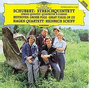 Beethoven: Great Fugue Op.133 / Schubert: String Quintet D.956