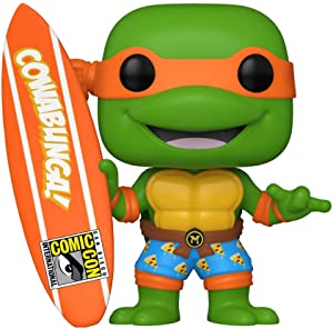 Funko Pop! Television #1019 TMNT Michelangelo with Surfboard (SDCC 2020 Exclusive)