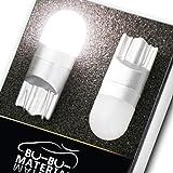 ぶーぶーマテリアル T10 LED 優しく明るい光拡散 ポジションランプ T16 ホワイト 白 無極性 2個