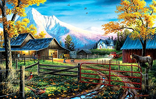 Western Lifestyle 550 Piece Jigsaw Puzzle by SunsOut