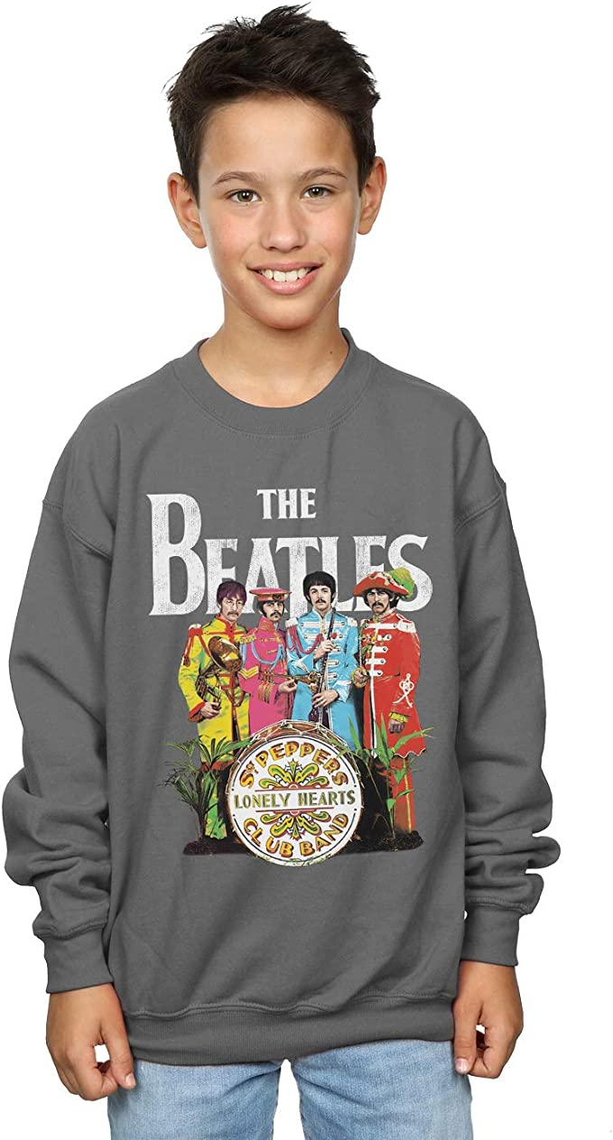 The Beatles Niños SGT Pepper Camisa De Entrenamiento