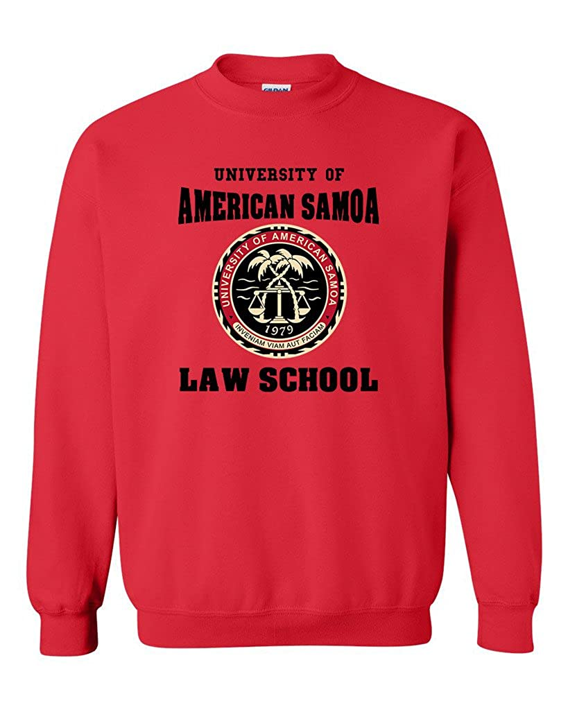 University of American Samoa Law School DT Novelty Crewneck Sweatshirt
