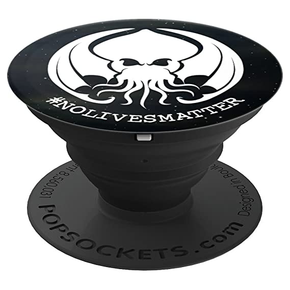 Cthulhu No Lives Matter Hashtag - PopSockets Grip and Stand for Phones and Tablets