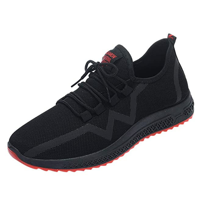 Transpirables Casual Zapatos JiaMeng Zapatillas de Malla Transpirables Zapatillas Antideslizantes Zapatillas de Moda Zapatos Casuales Fitness Sneakers ...