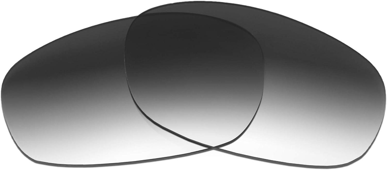 Revant Verres de Rechange pour Wiley X Curve - Compatibles avec les Lunettes de Soleil Wiley X Curve Dégradé Gris - Non Polarisés