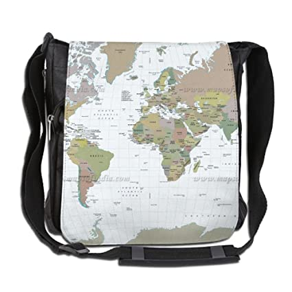 Amazon.com: Uni Narrow Diagonal Shoulder Bag World Map ... on map shoes, map luggage, map boots, map crossbody, map skirt, map phone case, map jacket, map scarf, map white, map trunk, map suitcase, map wallet, map sweater,