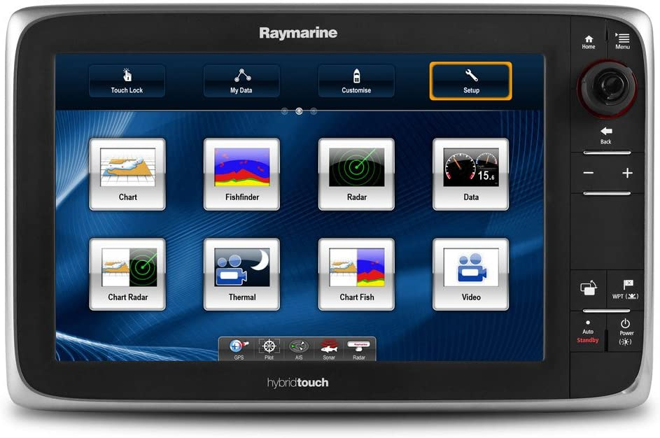 RAYMARINE E127 MULTIFUNCTION DISPLAY/FF US COASTAL CHARTS: Amazon ...