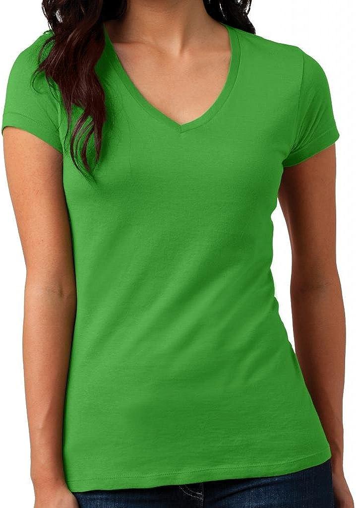 Yoga Clothing For You Juniors Vintage V-Neck Tee Shirt
