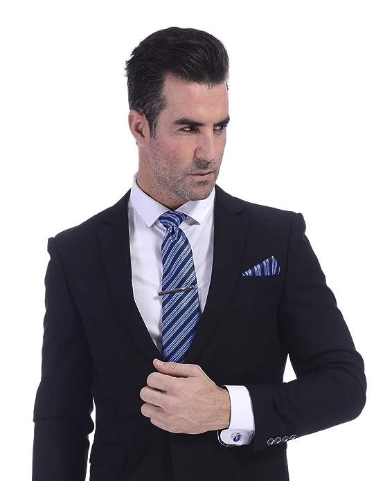 Fontee® Conjunto de Corbata para Hombre, Caja de Corbata Incluye ...
