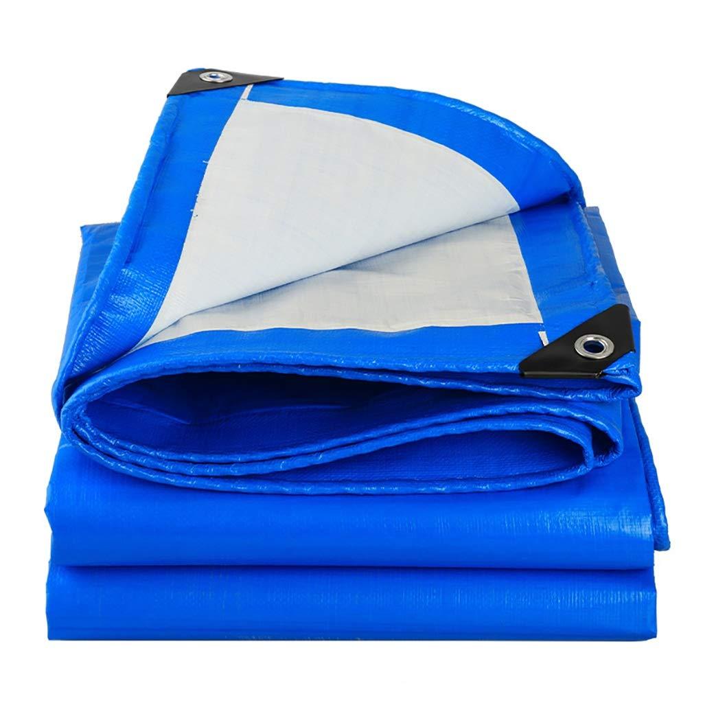 Hfspb Wasserdichte Plane für den Außeneinsatz 160 g Quadratmeter aus Kunststoff mit Regenmarkise  0,28 mm Plane