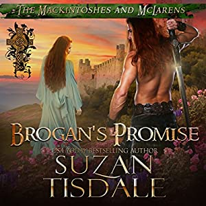 Brogan's Promise: Book Three of The Mackintoshes and McLarens Audiobook