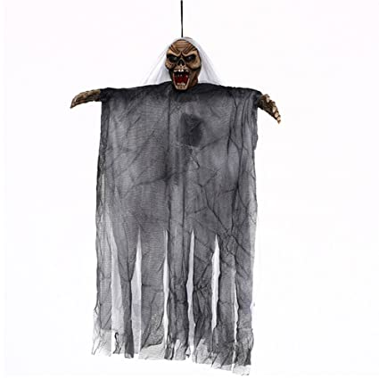 Amazon com: Halloween Witch Hanging Decorations, Scary Witch