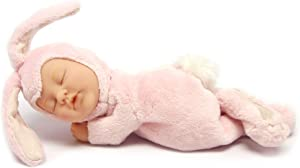 """Commonwealth Toys Anne Geddes 9"""" Baby Bunny-Rose"""