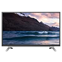 Toshiba 32 Inch HD Smart LED TV with Built-in Receiver, Black - 32L5995EA