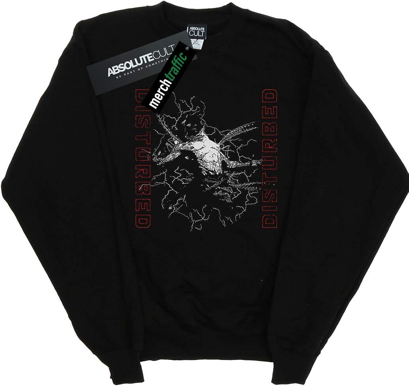 ABSOLUTECULT Disturbed Girls Evolution Sketch Sweatshirt