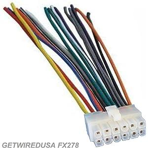 Amazon.com: Dual XDM260 / XDM270 CD Receiver Wiring Harness ... on
