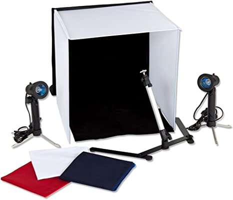 TecTake Estudio fotográfico, caja difusora, cubo de luz, set de ...