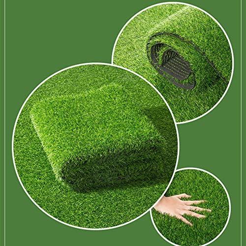 GAPING 人工芝カーペット屋内屋外バルコニーガーデンランドスケープデコレーション人工芝ゴム裏当て排水穴15 Mm高 (Size : 2x3m)