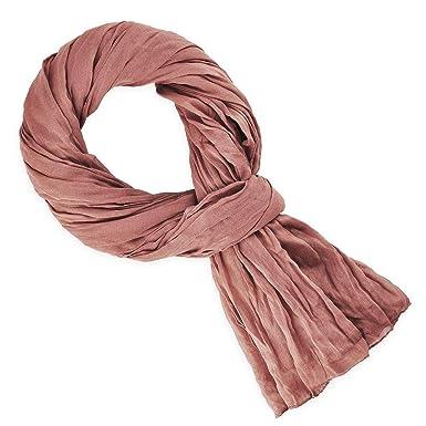 570cb481294 Allée du foulard Chèche rose blush  Amazon.fr  Vêtements et accessoires