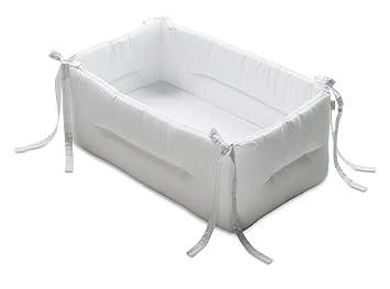 italbaby bebe couleurs unies rducteur de lit bb blanc - Reducteur De Lit Bebe