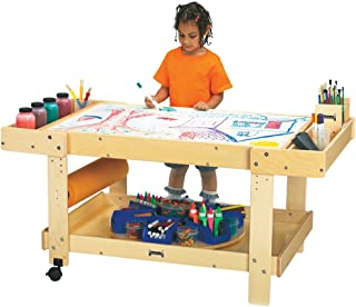 product image for Jonti-Craft 58501JC Creative Caddie Art Table with 2 Bins