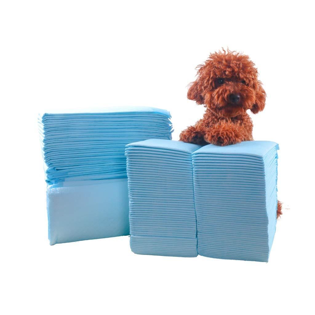 M 45cm60cm 50pcs KYCD Dog Urinal Pad Ultra Absorbent Non-woven Leak-proof Pet Training Diapers Small Medium Teddy Diaper Thickening Deodorant Rabbit Dog Urine Pee Pads, Pet Supplies (Size   M 45cm60cm 50pcs)
