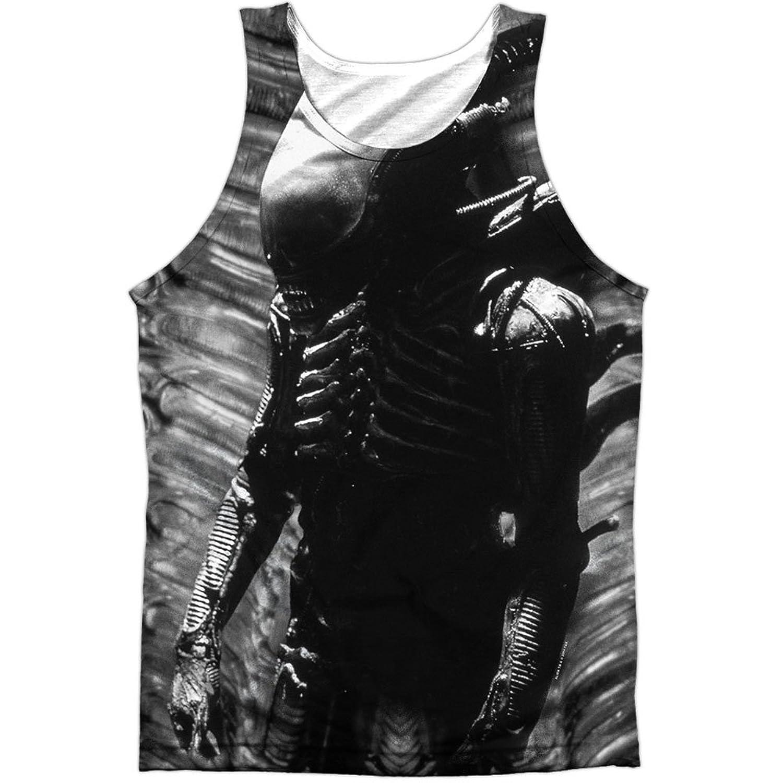 Alien Horror Sci-Fi Movie Violent Extraterrestrial Front Print Tank Top Shirt