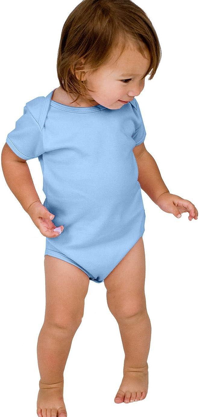 American Apparel Baby Rib Short-Sleeve One-Piece 4001