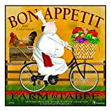 2017 Bon Appetit Wall Calendar: Farm to Table