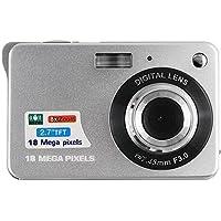 Digital Camera,CamKing CDC3 2.7 inch TFT LCD HD Mini Digital Camera (Slive)