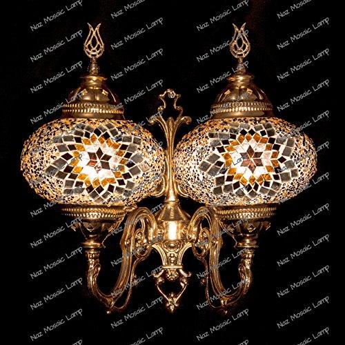 Mosaic Sconce,Mosaic Lamp,Turkish Mosaic Sconce,Sconce